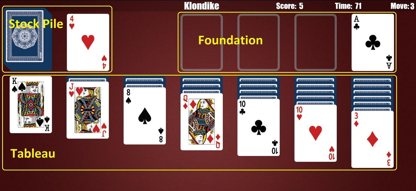 world of solitaire game